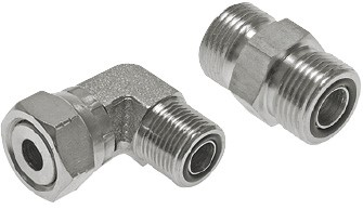 ORFS screw connections